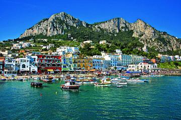 Capri Anacapri All Inclusive with Limoncello Tasting & Blue Grotto Option From Herculaneum