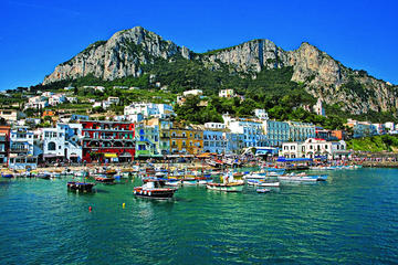 Capri Anacapri All Inclusive with Limoncello Tasting & Blue Grotto Option From Pompeii
