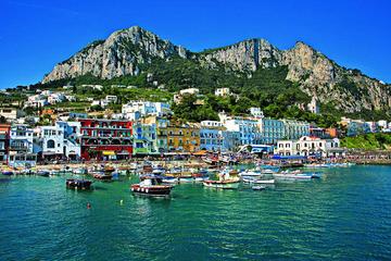 Capri Anacapri All Inclusive with Limoncello Tasting & Blue Grotto Option From San Giorgio