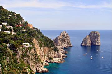Capri & Sorrento Easy Boat Experience Daily Tour  From Portici