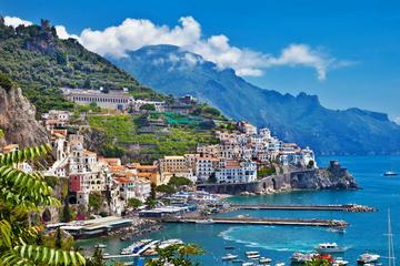 Positano & Amalfi Boat Exprerience Daily Tour with Limoncello Tasting From Sorrento coast