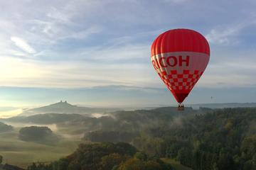 Hot air balloon rides in the Czech Republic