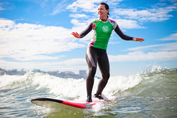 Clases de surf en San Diego