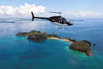 Bay of Islands and Hole in the Rock Scenic Helicopter Tour