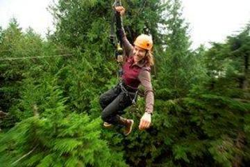 Ketchikan Shore Excursion: Rainforest Canopy Ropes and Zipline Park
