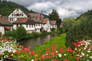 Excursion à la journée dans la Forêt noire et à Strasbourg au départ...