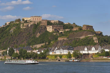 Koblenz Day Trip from Frankfurt: Ehrenbreitstein Fortress, Rhine Valley Cable Car Ride and German Dinner