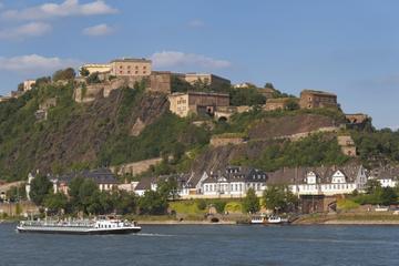 Koblenz-Tagesausflug von Frankfurt aus: Festung Ehrenbreitstein...