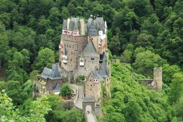 Tour du château d'Eltz au départ de Francfort, avec dîner sur le Rhin