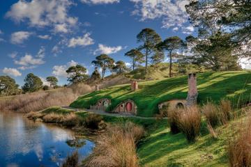Rundtur på Hobbiton-filminspelningsplatsen för Sagan om ringen
