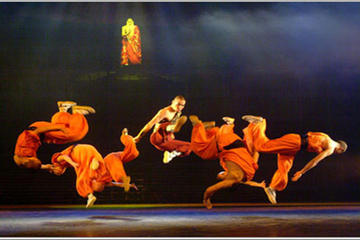 Beijing Kung Fu Show at Night