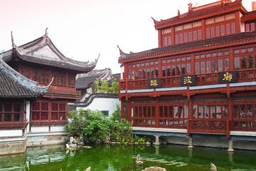 Excursión privada: Jardín Yuyuan, Templo de Chenghuangmiao y mercado...
