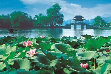 Tour por la ciudad de Hangzhou: Crucero por el Lago Oeste y templo...