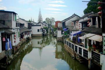 Visite privée: Zhujiajiao, Tour de la Perle de l'Orient et musée...