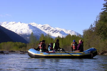 Skagway Landausflug: Landschaftlich schöne Floßfahrt auf dem Fluss