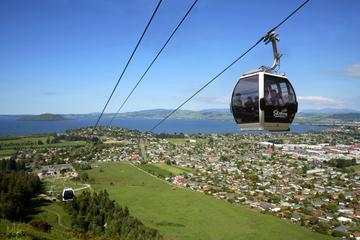 Rotorua-Gondel mit optionaler Fahrt...
