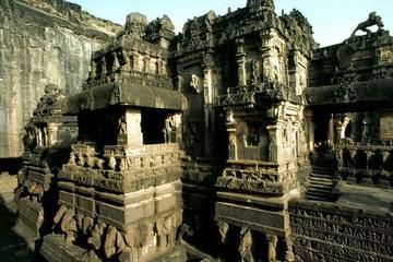 Excursão privada: 5 dias em Deli para Mumbai incluindo Aurangabad