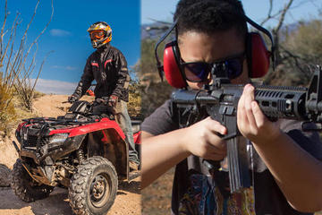 ATV and Shooting Combo for 3 Hours