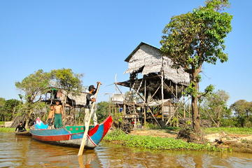 KAMPONG PHLUK and ROULOUS GROUP  Private Tour