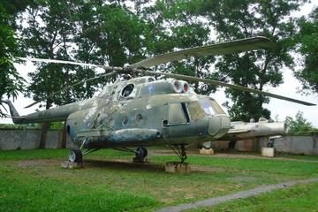 Visit Pouk Silk Farm and Siem Reap War Museum with guide transport