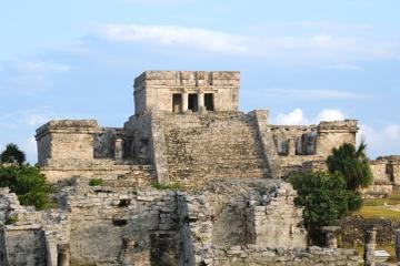Bootstour mit dem Katamaran von Riviera Maya zu den Tulum-Ruinen mit...