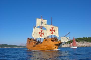 Cruzeiro pela ilha Elafiti na Croácia saindo de Dubrovnik