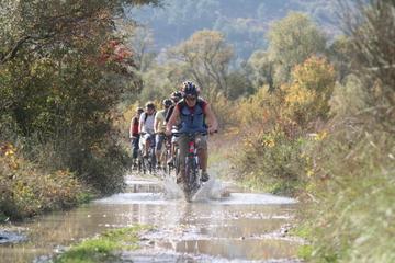 Excursion en vélo dans la vallée de Konavle en petit groupe au départ...