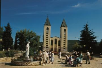Viagem de dia inteiro a Medjugorje partindo de Dubrovnik