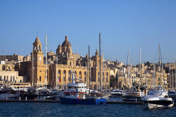 Escursione costiera di Malta: tour privato dei palazzi storici e