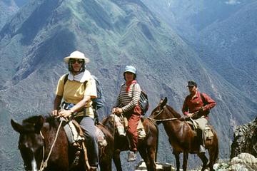 Excursão com passeio a cavalo saindo...
