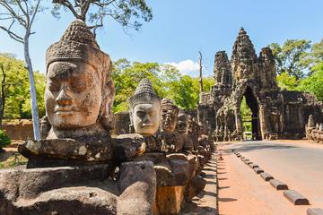 Tour naar Angkor-tempels met kleine ...