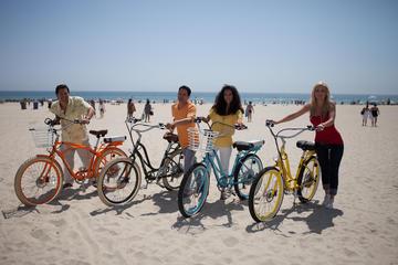 El-sykkeltur på Santa Monica og...