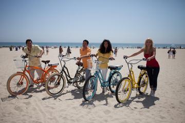 Excursão de bicicleta elétrica pela praia de Santa Monica e Venice