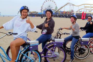 Tour privato di Santa Monica e Venice in bicicletta elettrica