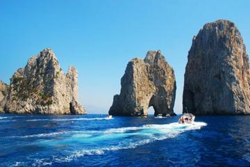 Full-Day Capri and Blue Grotto Tour from Rome