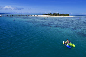Full-Day Tivua Island Day Cruise with Wreck Dive for Experienced Divers