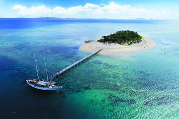 Tivua Island Day Cruise and Sunset Dinner Cruise Combo in Fiji
