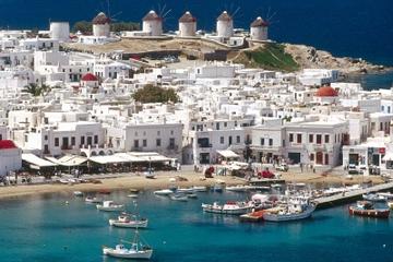 4 noches en las islas griegas desde Atenas: Santorini, Míkonos y Siros
