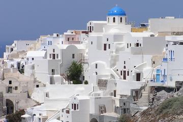 Escursione a terra di Santorini: tour privato di Oia e Fira, inclusi