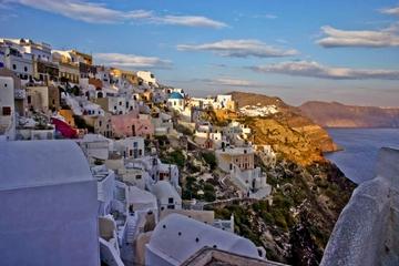 Excursão no litoral em Santorini: excursão privada em Oia, Fira e...