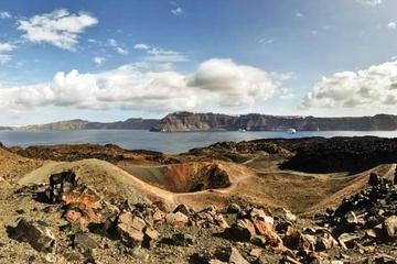 Excursão privada: Viagem ao vulcão de Santorini incluindo Termas