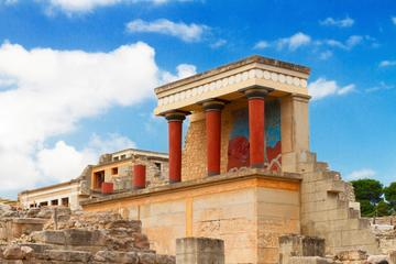 Private Tour to Knossos and Archaeological Museum or Shopping from...