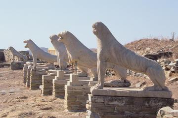 Visite privée: excursion d'une journée à Délos au départ de Mykonos