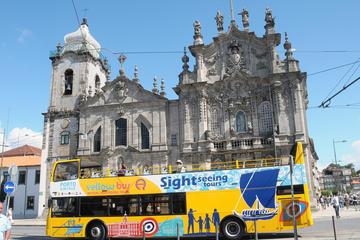 Excursão em ônibus panorâmico pela cidade do Porto com cruzeiro...