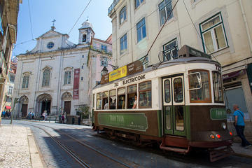 Lisbon Combo: Hop-On Hop-Off Tram and Yellow Boat Cruise