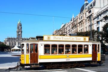 Porto Premium 3 in 1: Hop-On Hop-Off Bus, Tram Tour and Guindais...