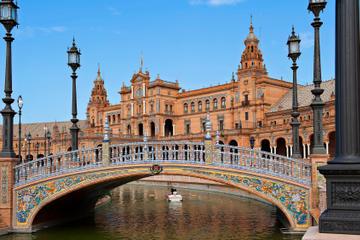 Excursion en bord de mer à Cadix: une journée à Séville avec billet...
