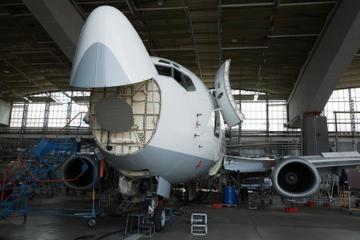 Rondleiding voor kleine groepen door de Boeing-fabriek vanuit Seattle