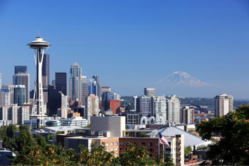 Seattle in One Day: Sightseeing Tour including Space Needle and Pike...