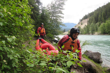 Columbia Valley Inflatable Kayak Tour